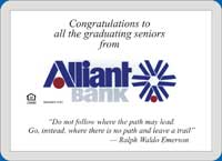 congratulate each graduate with your company's message